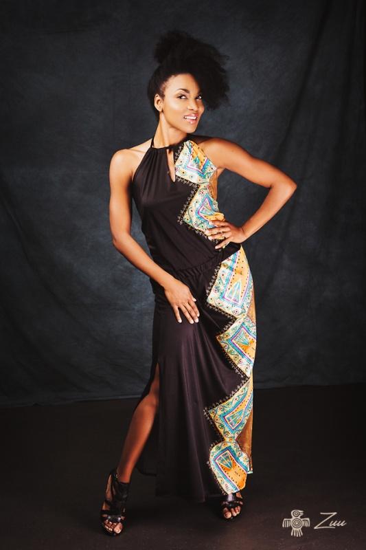 Elegantní Afro šaty