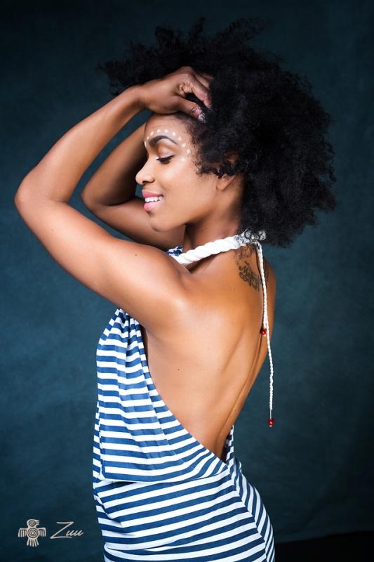 Proužek šatičky - náhrdelník