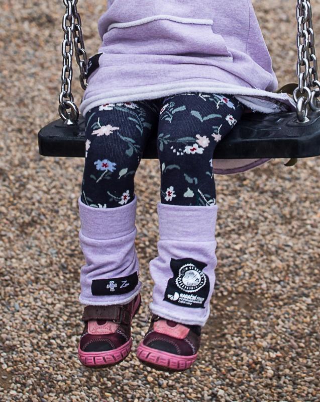 Růžové dětské návleky